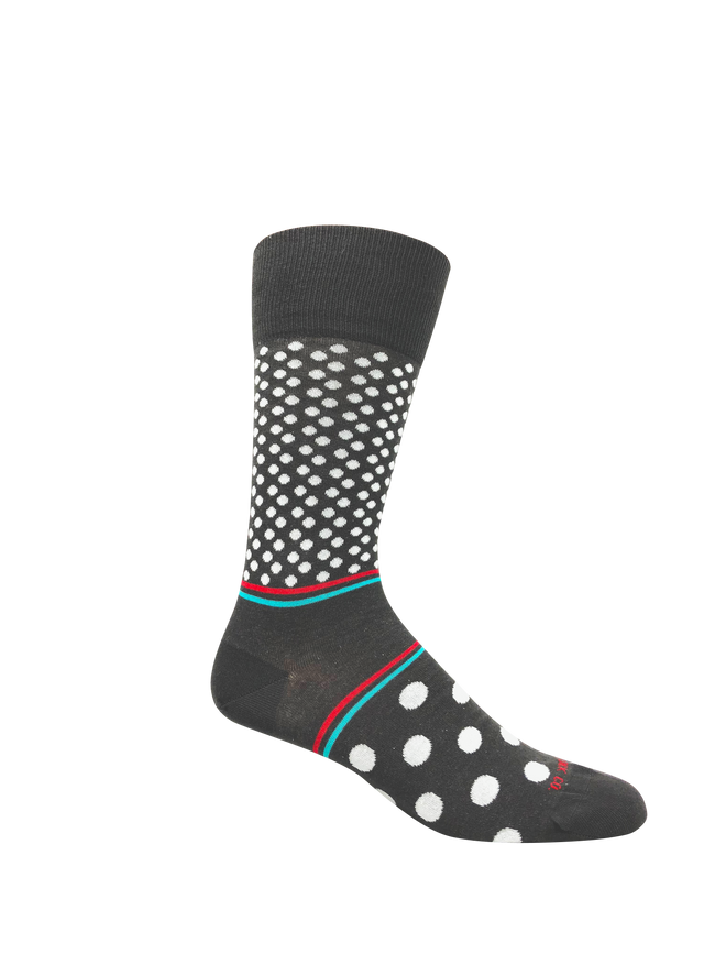 Dot Fields Socks (M) - LOVE SOCK COMPANY