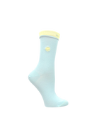 blue women's socks