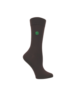 Brown women's socks