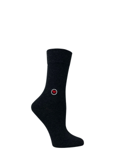Gray Melange Socks (W)