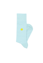 Baby Blue Solid Socks (M)
