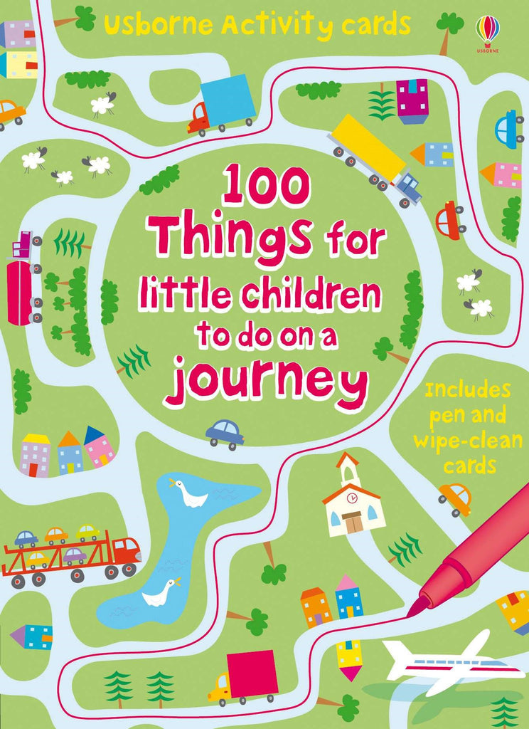 Usborne - 100 Things for Little Children to do on a Journey
