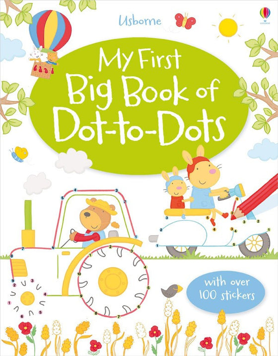 Usborne - My First Big Book of Dot-to-Dots