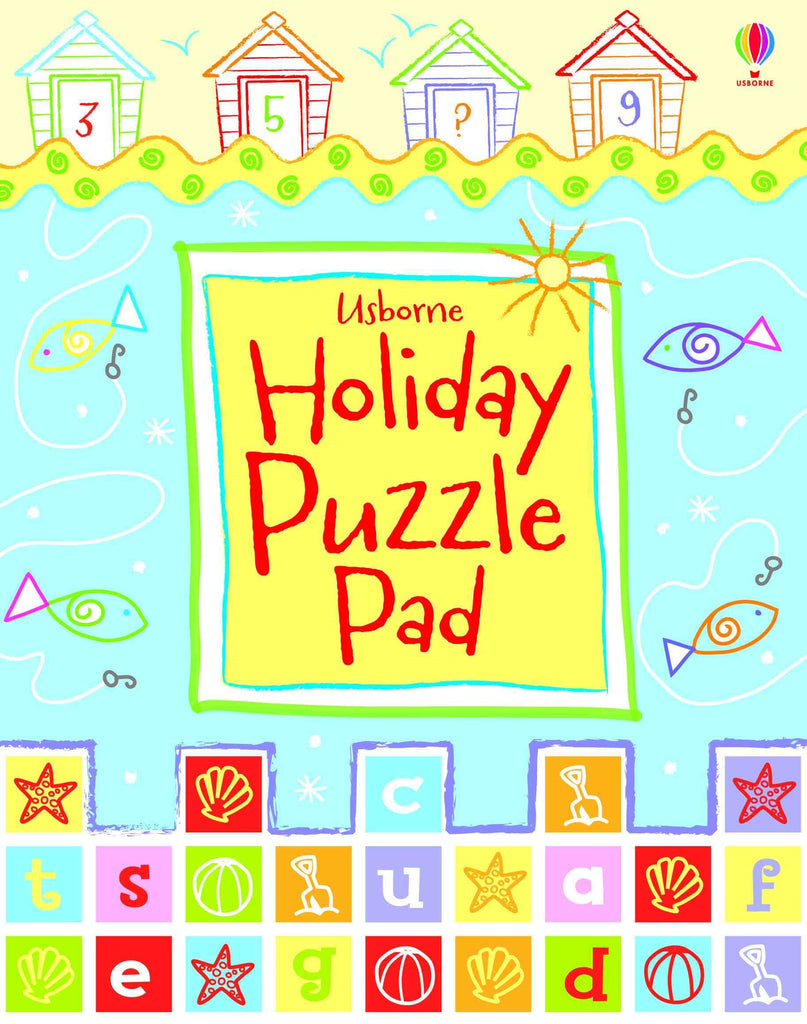 Usborne - Holiday Puzzle Pad