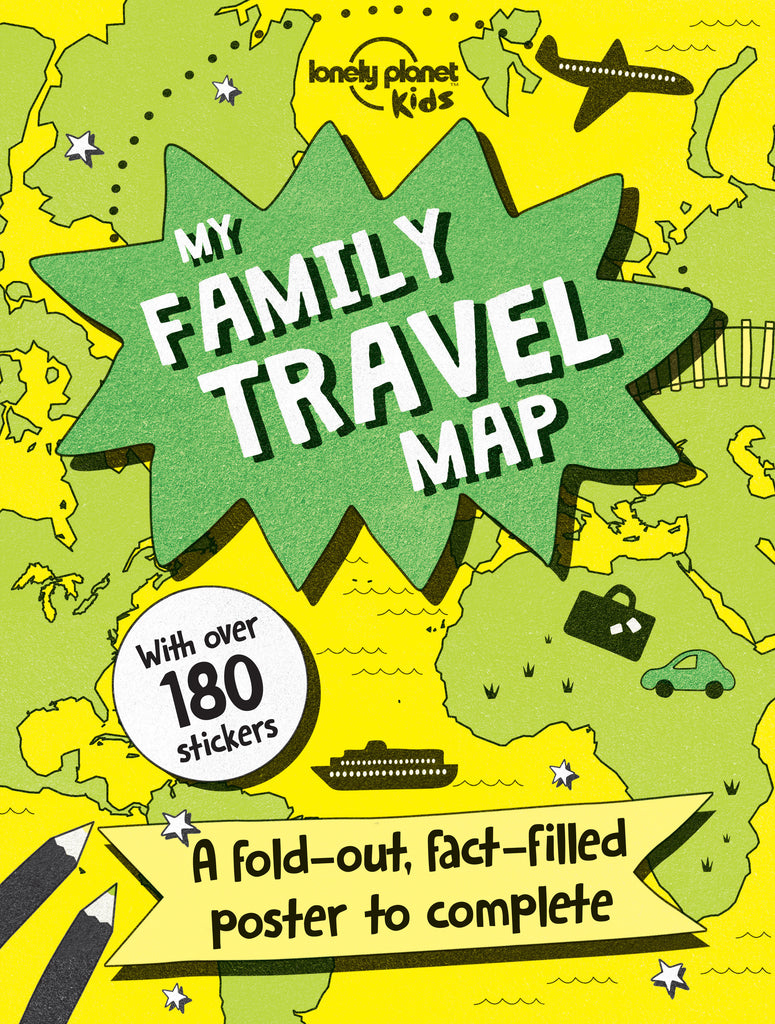 Lonely Planet - My Family Travel Map