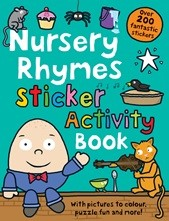 Priddy Books - Nursery Rhymes Sticker Activity Book