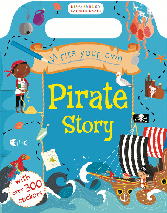 Allen & Unwin - Write Your Own Pirate Sticker Storybook
