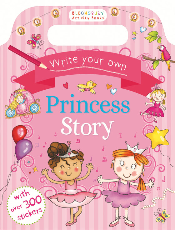 Allen & Unwin - Write Your Own princess Sticker Storybook