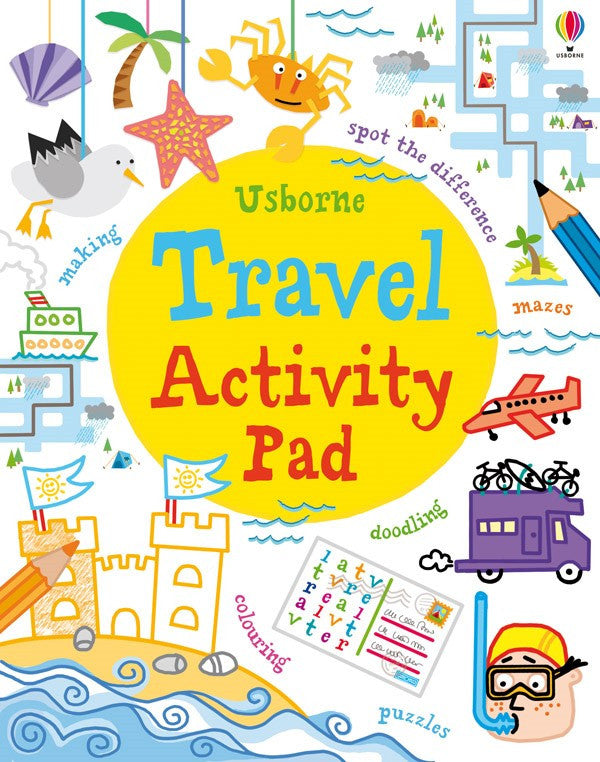 Usborne - Travel Activity Pad