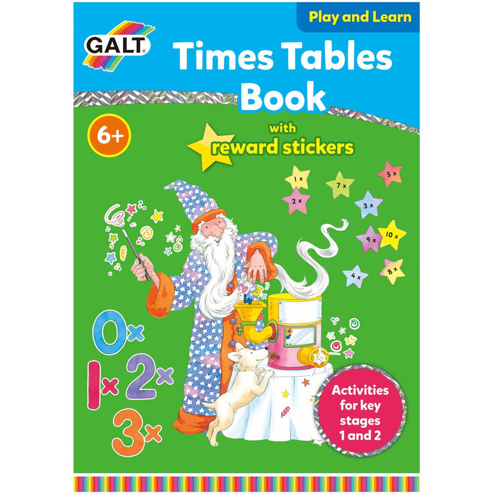 Galt - Times Tables Sticker Reward Book