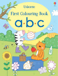 Usborne - First Colouring Book - ABC
