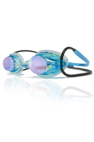 Sky Blue Engine Fishtail Goggles