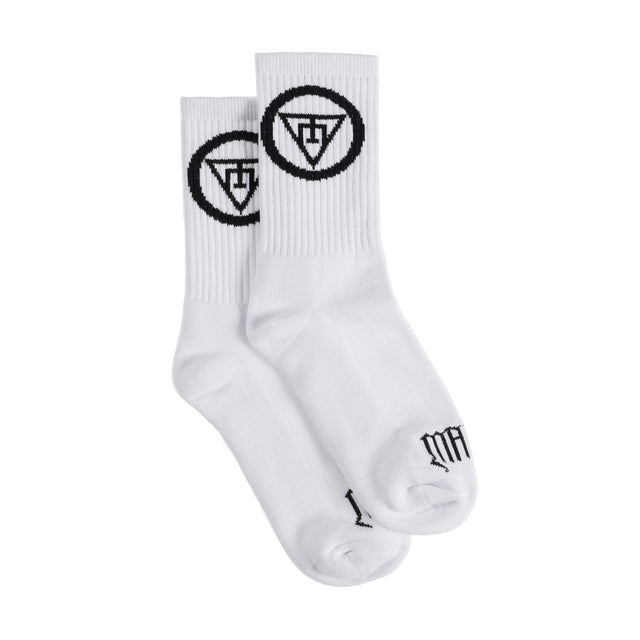 BLACK SYMBOL SOCKS
