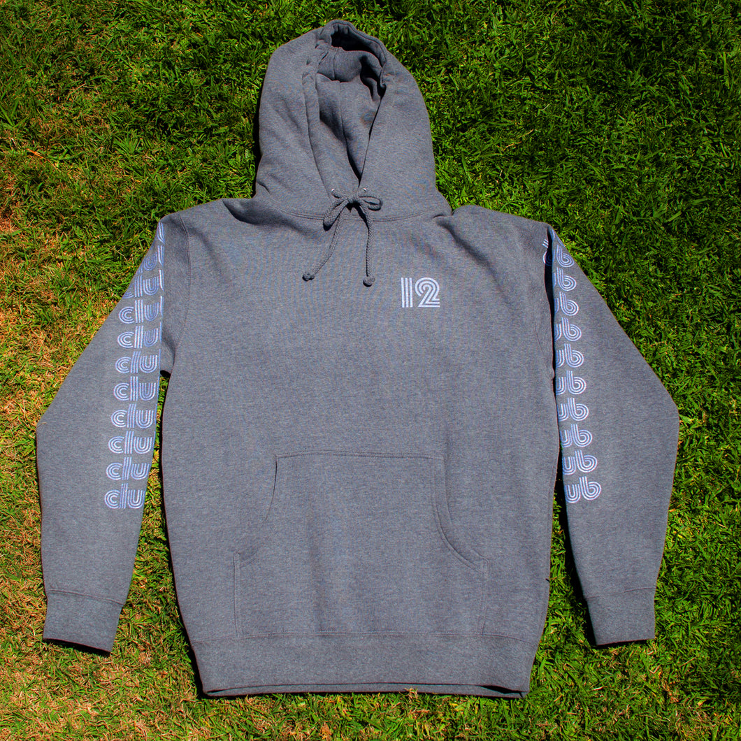 CLUB STACK HOODIE - HEATHER