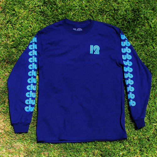 CLUB STACK L/S - NAVY