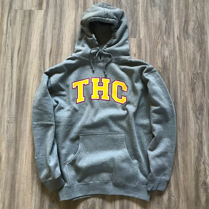 MID TERM HOODIE - GUNMETAL HEATHER
