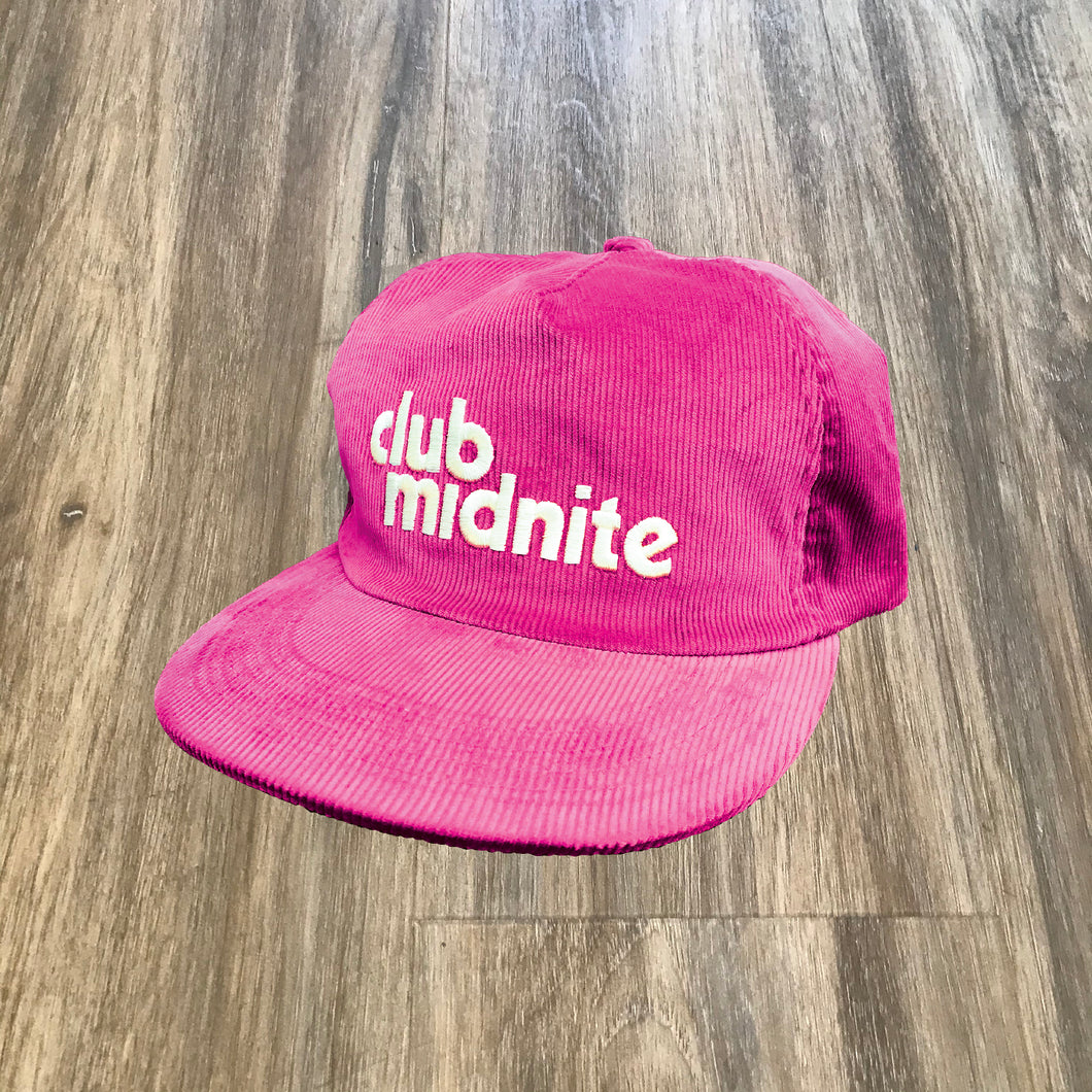 CORD HAT - PANTHER PINK
