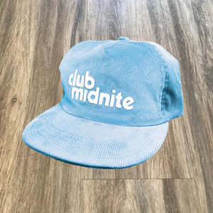 CORD HAT - SKY HIGH BLUE