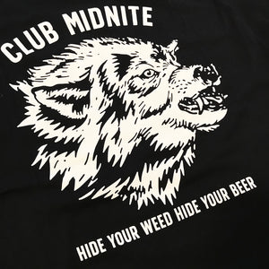 HIDE EVERYTHING S/S - BLACK