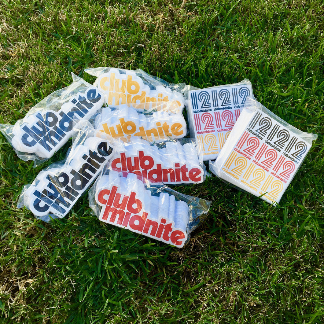 STICKERS - ASSORTED 5 PACK
