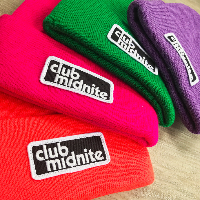CLUB PATCH BEANIE