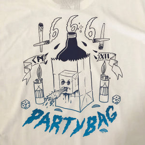 PARTY BAG S/S - WHITE