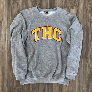 MID TERM CREW SWEATSHIRT HEATHER GREY
