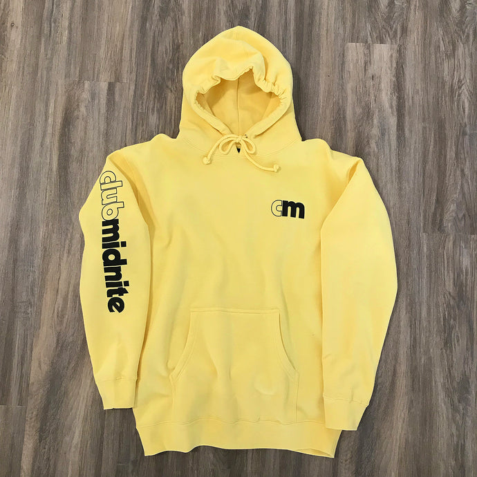 OUTLINED HOODIE - PALE YELLOW