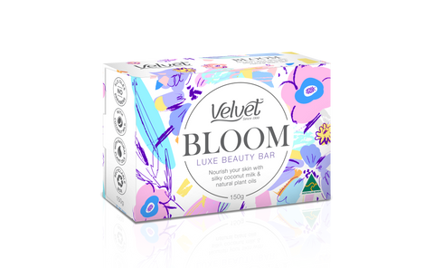 VELVET BLOOM LUXE BEAUTY BAR 150GR