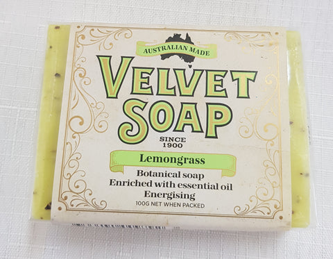VELVET SOAP LEMONGRASS 100GR