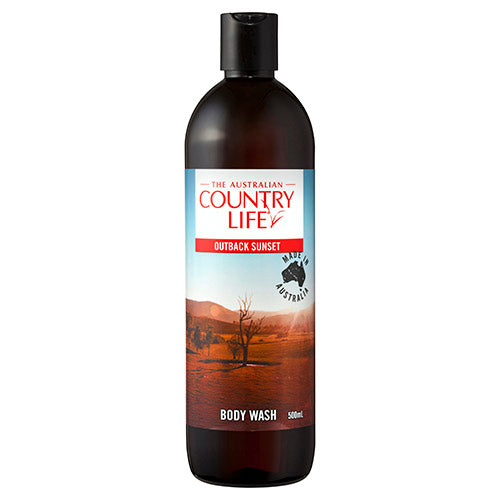 Country Life Body Wash Outback Sunset