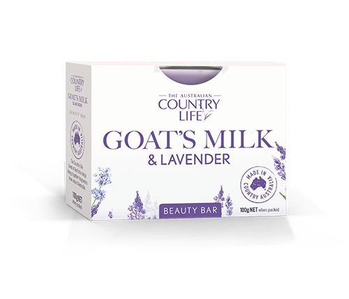 Country Life Goats Milk & Lavender Beauty Bar