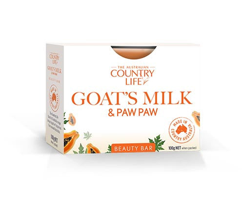 Country Life Goats Milk & Paw Paw Beauty Bar