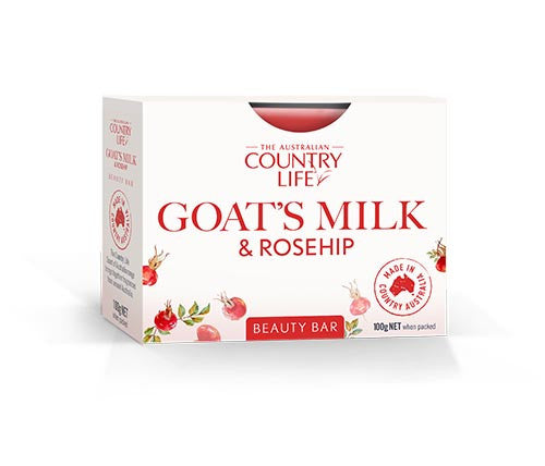 Country Life Goats Milk & Rosehip Beauty Bar