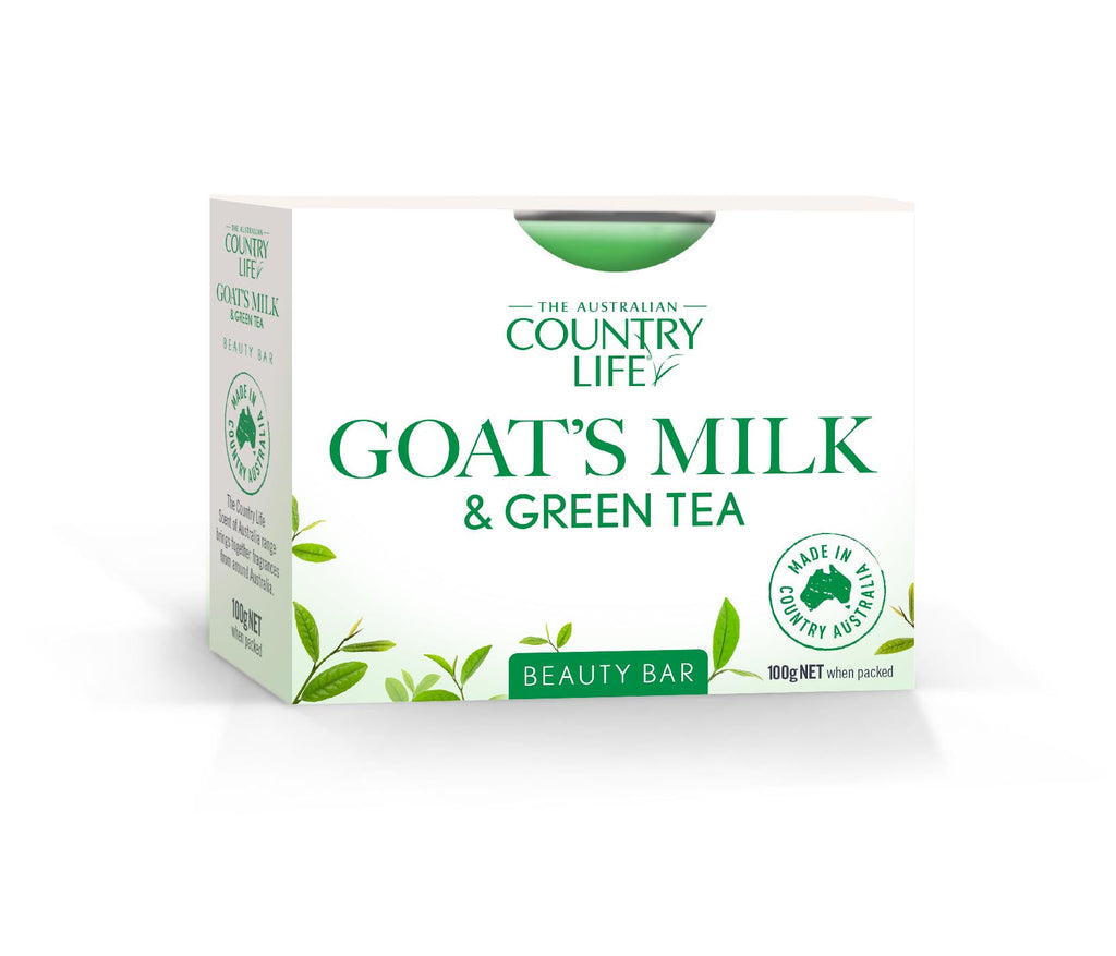 Country Life Goats Milk & Green Tea Beauty Bar