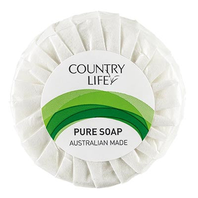 Country Life Guest Amenities Pleat Wrap Soap (per carton)