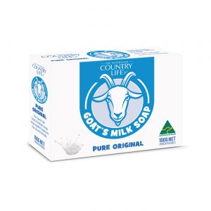 Country Life Goats Milk Pure Baby Cleansing Bar