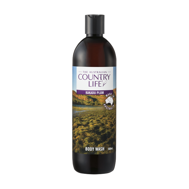 Country Life Body Wash 500ml - Kakadu Plum