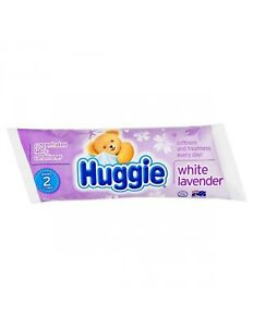 HUGGIE CONCENTRATED FABRIC CONDITIONER -SACHET 250ML - WHITE LAVENDER