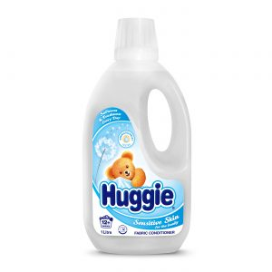 HUGGIE SENSITIVE FABRIC CONDITIONER 1LT