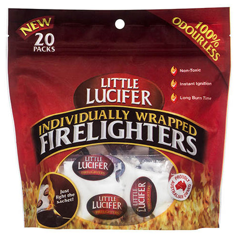 Little Lucifer Firelighters Individually Wrapped