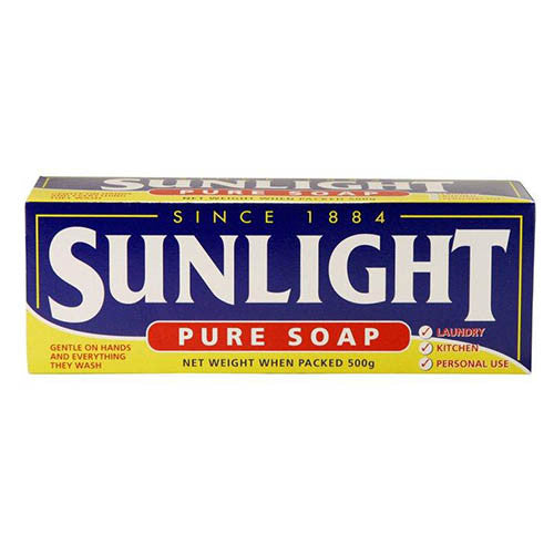 Sunlight Pure Laundry Soap 4 Pkt