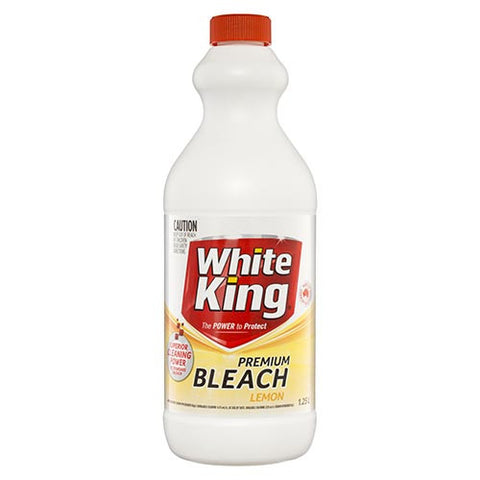 White King Premium Bleach Lemon (per carton)