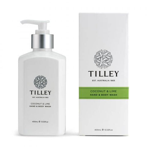 COCONUT & LIME HAND & BODY WASH 400ML