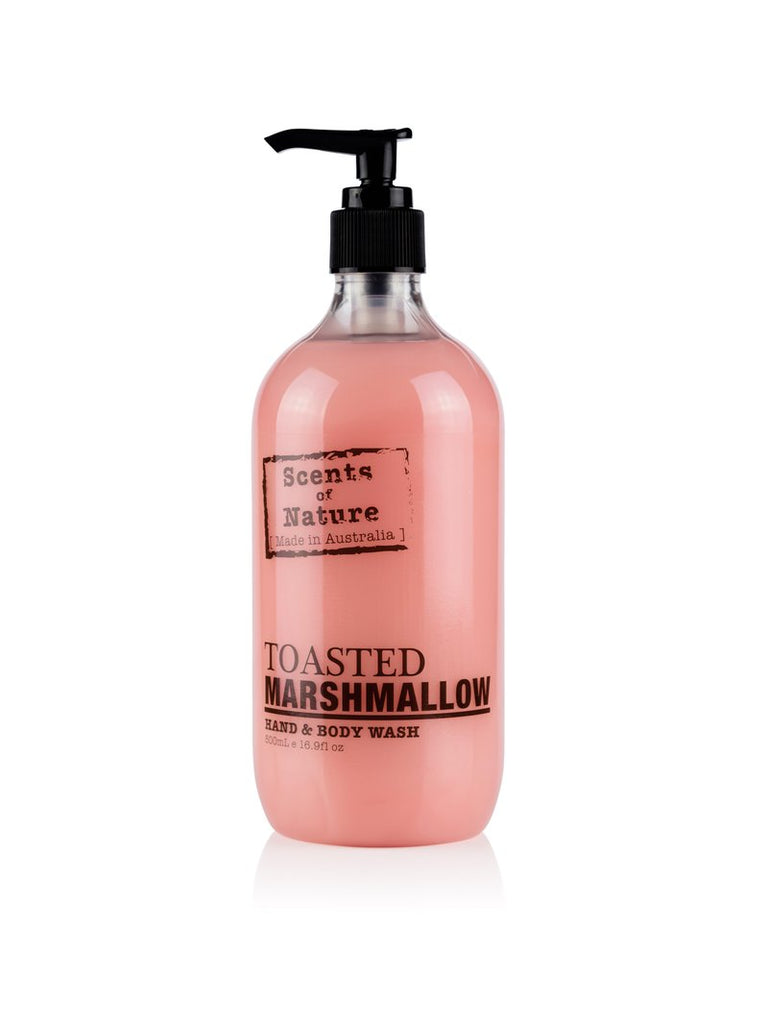 TOASTED MARSHMALLOW HAND & BODY WASH 500ML
