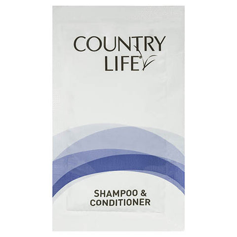 Country Life Guest Amenities Conditioner & Shampoo 8ml (500 per carton)
