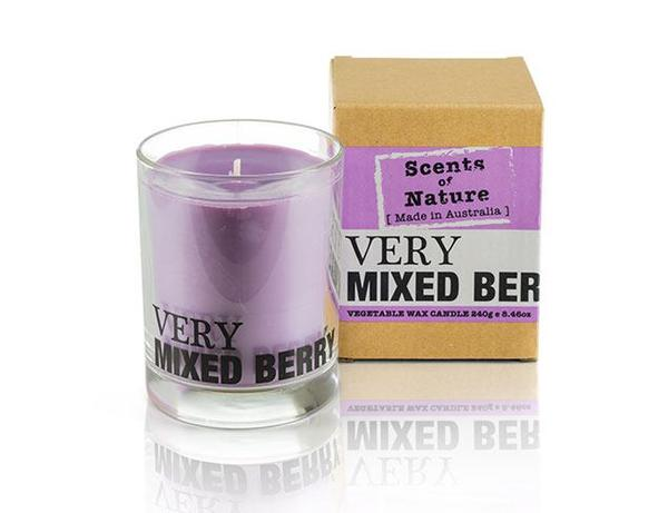 VERY MIXED BERRY VEGETABLE WAX CANDLE 240G