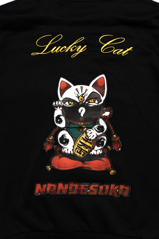 Lucky Cat Sweater Black