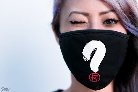 Nandesuka Mask black