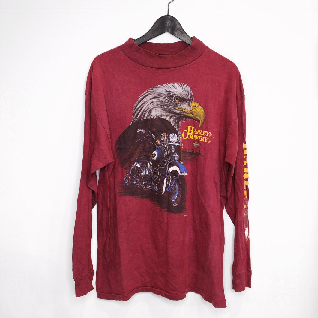 Harley 'Country' long sleeve tee